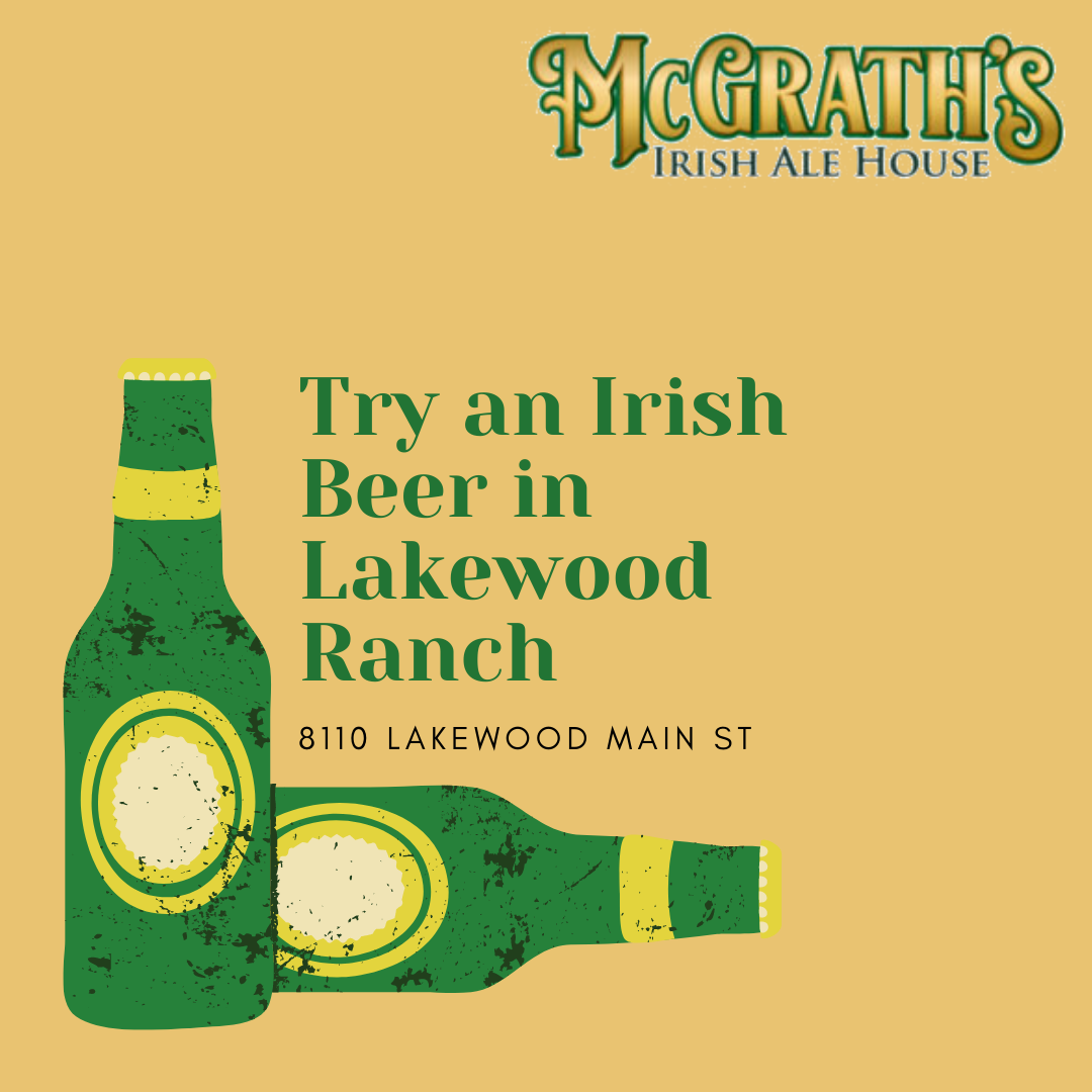 Try an Irish Beer in Lakewood Ranch